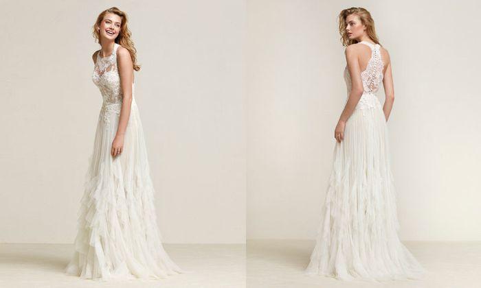 Fotos vestidos de novia boho chic