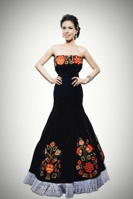Vestidos Para Dama Boda Mexicana Foro Moda Nupcial Bodas