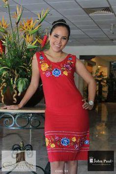Vestidos para dama Boda Mexicana 19