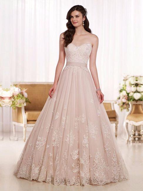 Vestidos para novia en rosa palo! - Foro Moda Nupcial - bodas.com.mx