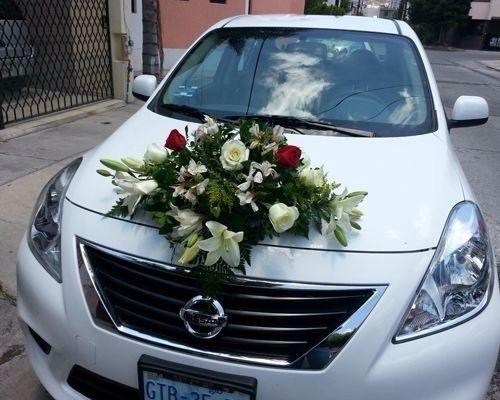 Ya tengo florista foro organizar una boda - Decoracion coche novia ...