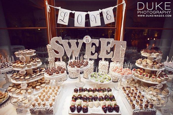 Mesa de dulces postres o snacks foro organizar una for Mesa de dulces para boda