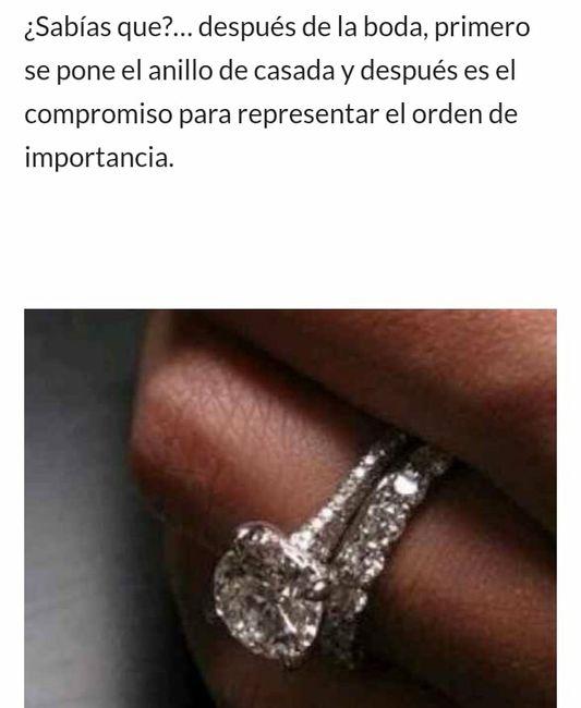 Orden de los anillos ?? 6