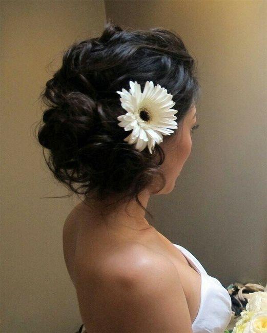 Tocados con flores 8