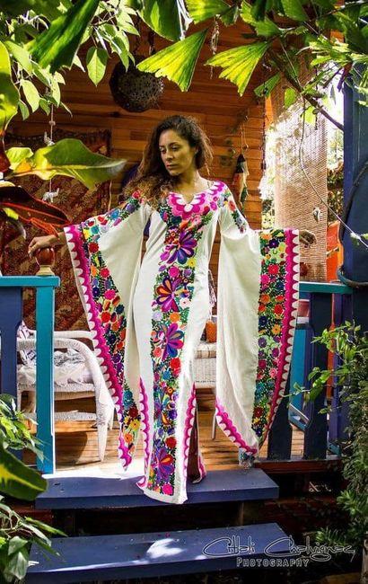 Vestidos temática mexicana 12