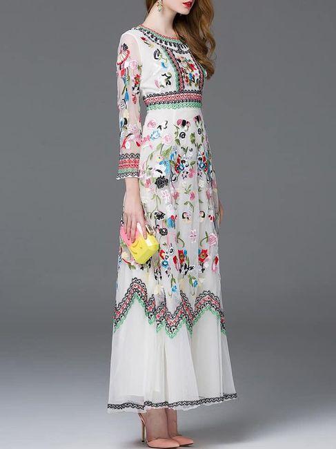 Vestidos temática mexicana 17