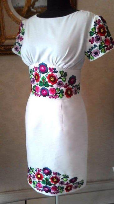 Vestidos temática mexicana 24