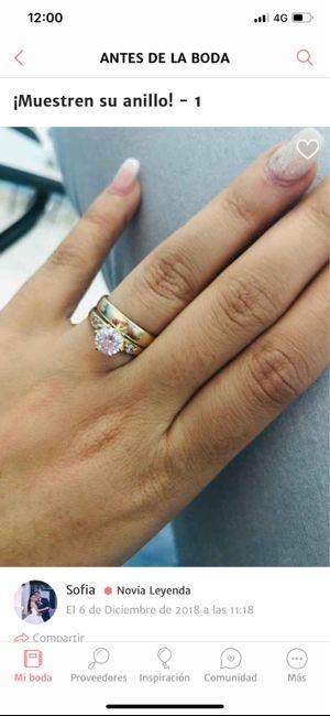 Orden de anillos 💍 - 1