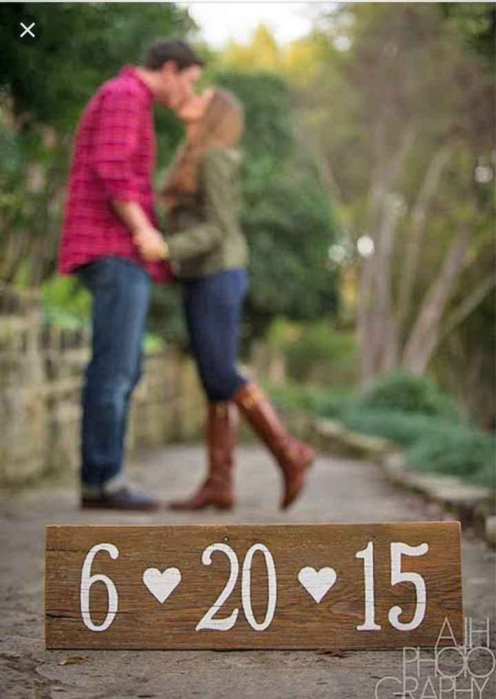 ¿Save the date? - 1