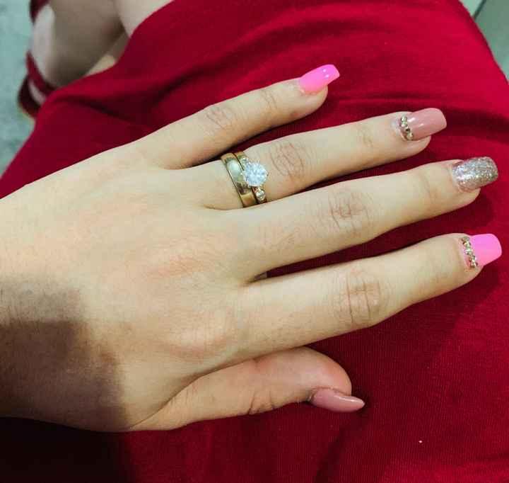 Muestren sus anillos de compromiso y argollas de matrimonio ❤️❤️❤️ - 1