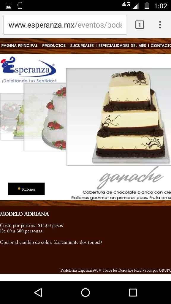 Que pastel elegir ... este , este o este !!! ammm - 1