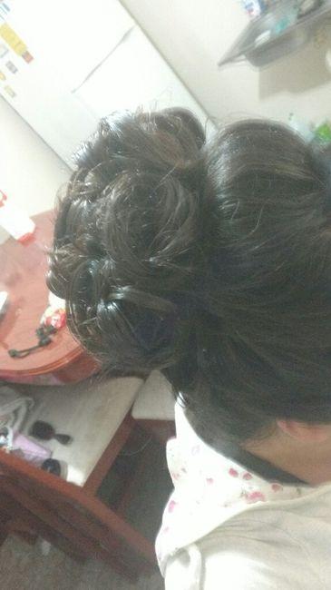 Prueba de maquillaje y peinado - 3