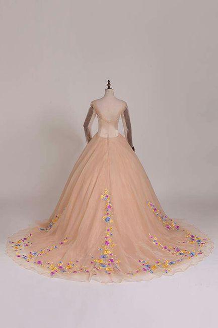 vestido de novia al estilo cinderella - foro moda nupcial - bodas.mx