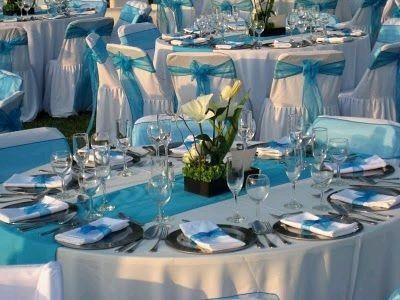combinaciones de colores en blanco y azul turquesa - foro organizar