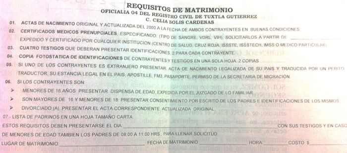 Matrimonio Iglesia Catolica Requisitos : Requisitos para una boda civil familiarizarse con la
