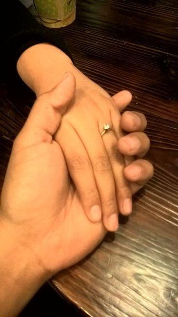 Hubiera elegido otro anillo de compromiso: ¿V o F? 11