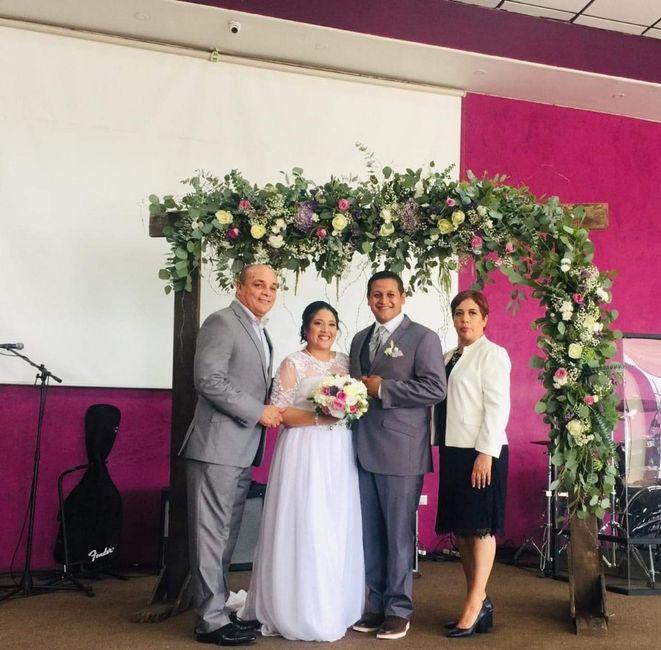 Un poco de nuestra boda c & k 2