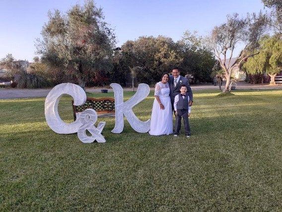 Un poco de nuestra boda c & k 11