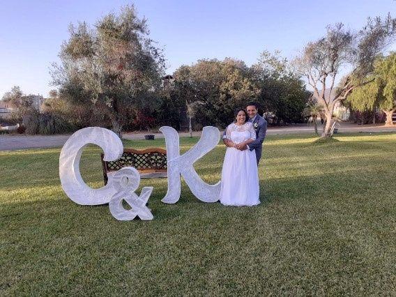 Un poco de nuestra boda c & k 12