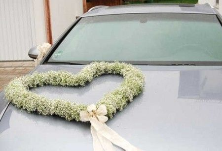 Y la decoracion del auto de la novia foro organizar una boda - Decoracion coche novia ...