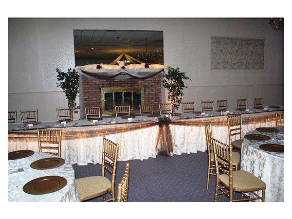 Boda en color dorado con blanco foro organizar una boda - Decoraciones en color plata ...