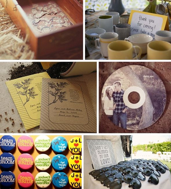 Our unique selection of cheap wedding favors are only cheap when it comes to price-they definitely don't skimp on quality and impact! You'll find themed candles, favor boxes, coasters and much more. Wedding favors include many under $1 and comes with our low price guarantee.
