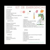Alguien puede explicarme que debe contener un kit de emergencia - 1