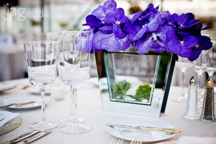 Flores naturales o artificiales para los centros de mesa - Centros de plantas naturales ...