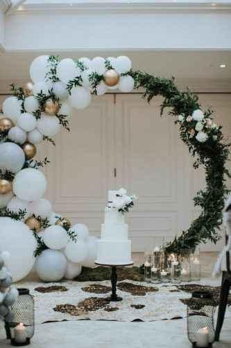 "Ideas para decoración de boda ""aros de flores"" en cdmx - 2"