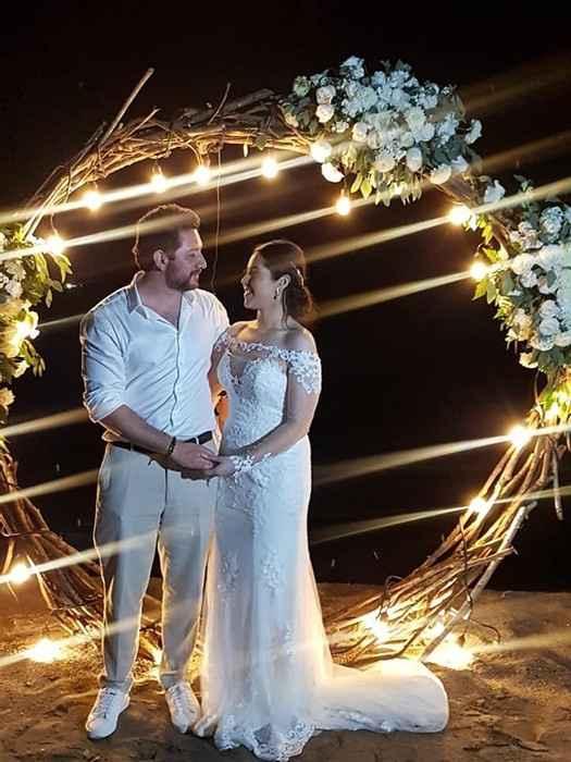 "Ideas para decoración de boda ""aros de flores"" en cdmx - 4"