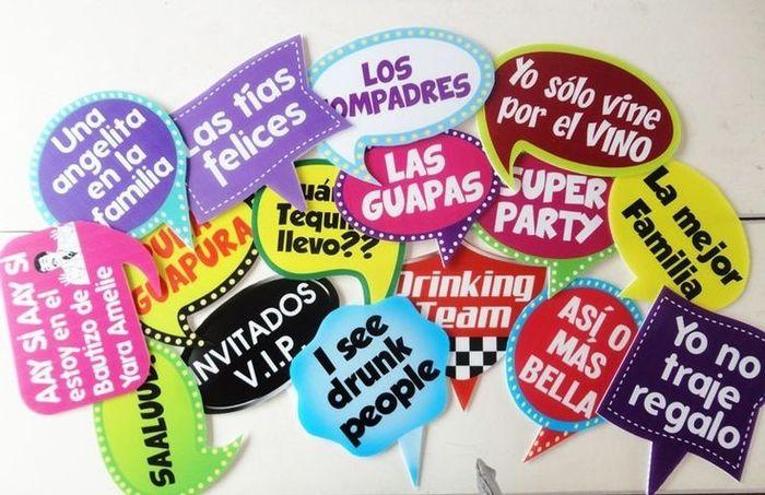 Letreros divertidos foro manualidades para bodas - Ideas divertidas para fiestas infantiles ...