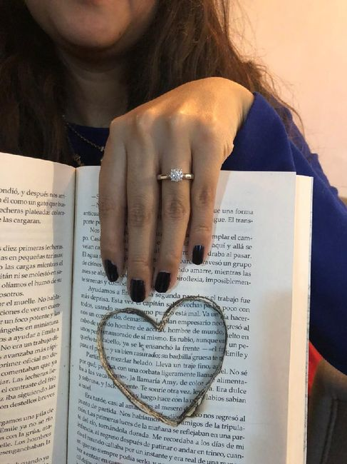 Ya tengo anillo!!! 💍💍 3