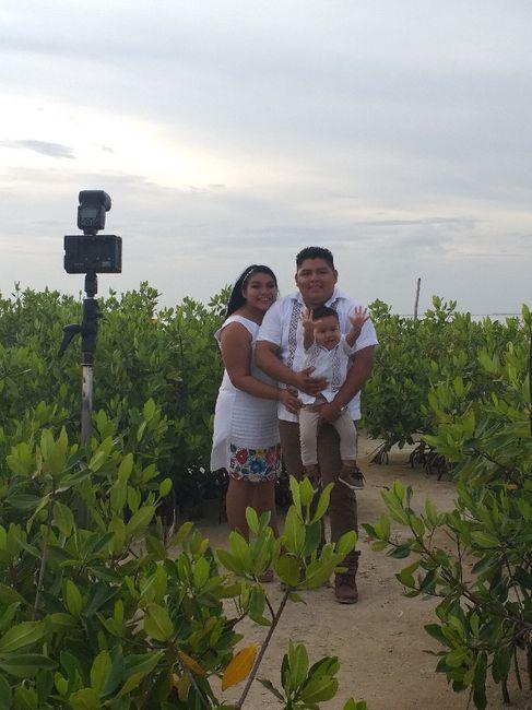 Mi sesión pre boda familiar #cancún 3