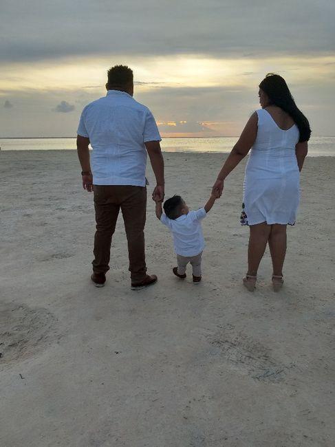 Mi sesión pre boda familiar #cancún 4