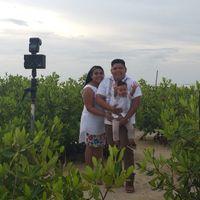Mi sesión pre boda familiar #cancún - 3