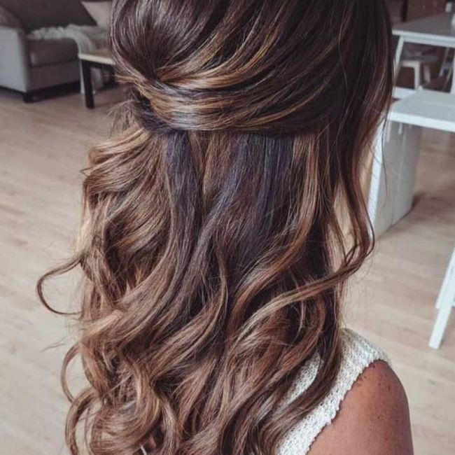 El peinado y maquillaje 💄 👰🏻♀️ 4