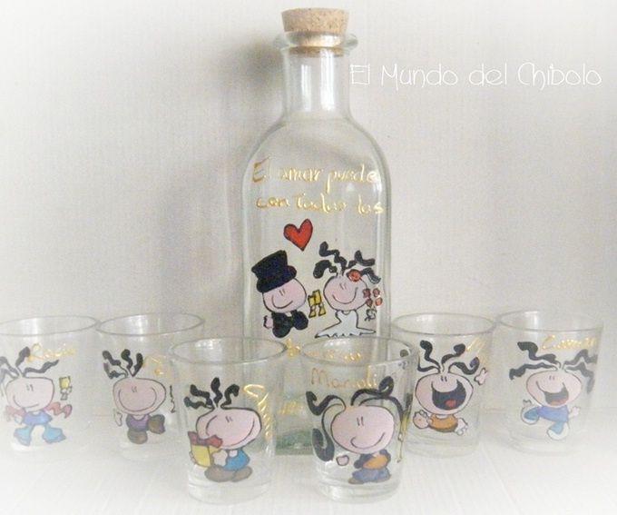 Les dejo una idea para realizar su recuerdos para mesa son botellas