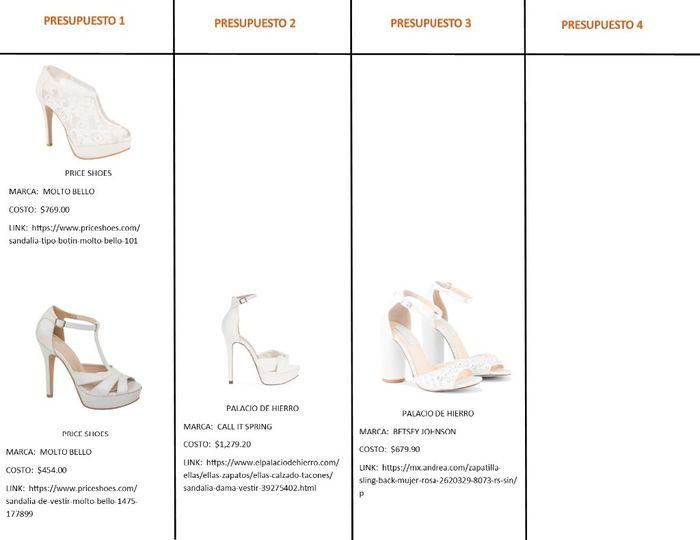 537d13f38 Zapatos de novia - Foro Organizar una boda - bodas.com.mx