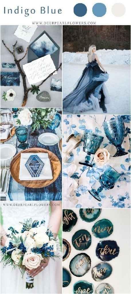 Consejos para el color de mi boda aparte del blanco por arreglos que incluye el salón - 2