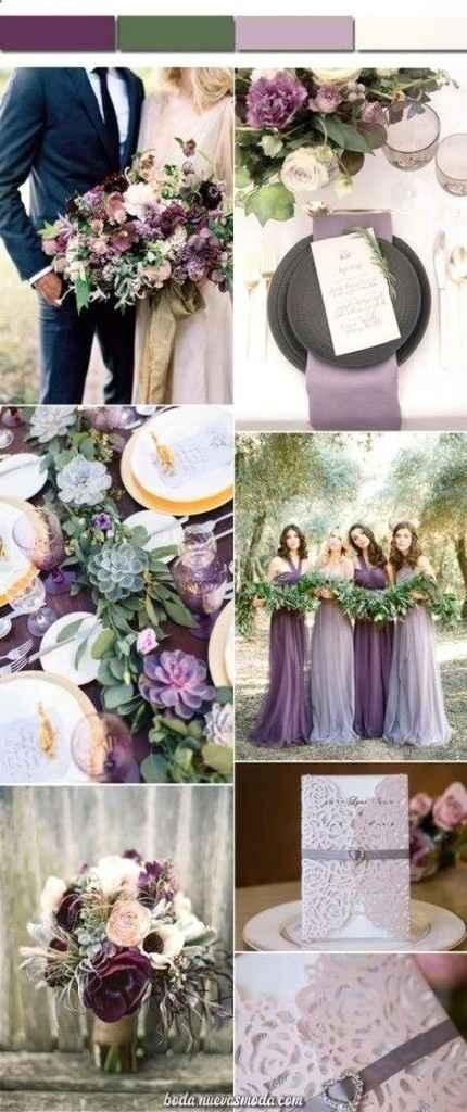 Consejos para el color de mi boda aparte del blanco por arreglos que incluye el salón - 3