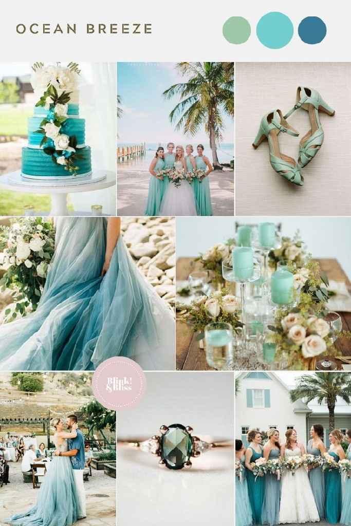 Consejos para el color de mi boda aparte del blanco por arreglos que incluye el salón - 4