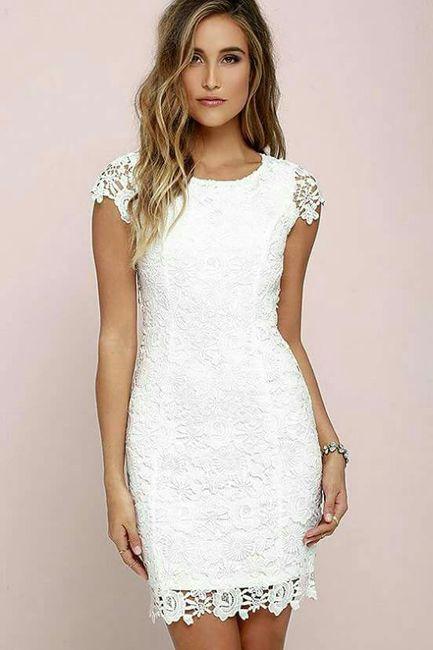 Vestidos sencillos y elegantes para bodas