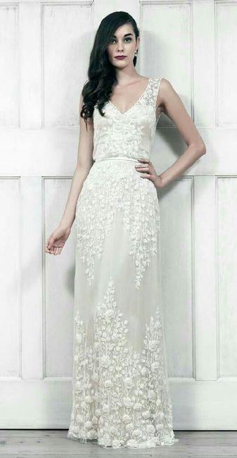 Vestidos para matrimonios civiles sencillos