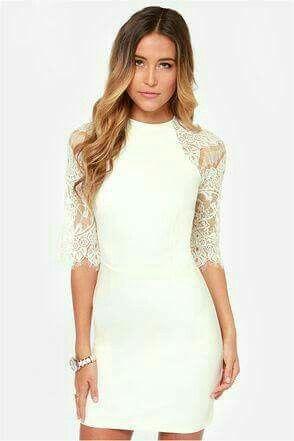 accd0b7e3569c Ideas de vestidos sencillos y elegantes para boda civil!👗👠👰💐 - 15