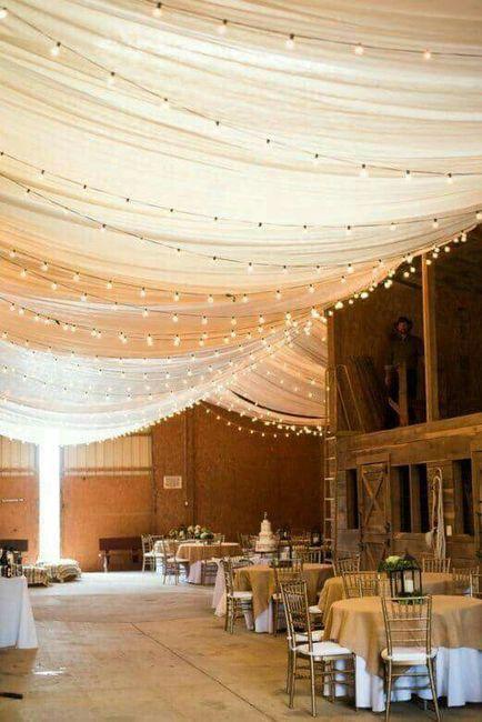 Ideas para decorar el techo foro organizar una boda - Decorar el techo ...