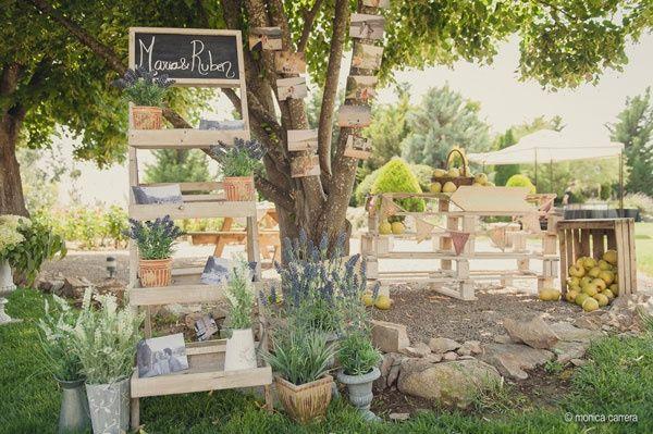 P d nuestra boda campestre 3 la madera foro for Decorar cajas de fruta para boda