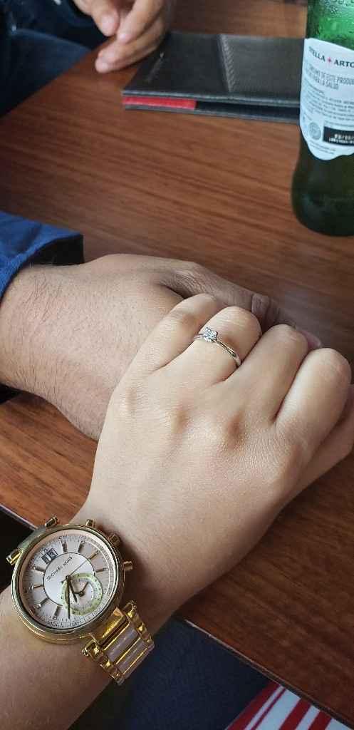 a presumir el anillo! - 1
