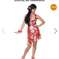 Vestido para despedida de soltera hawaiana - 1