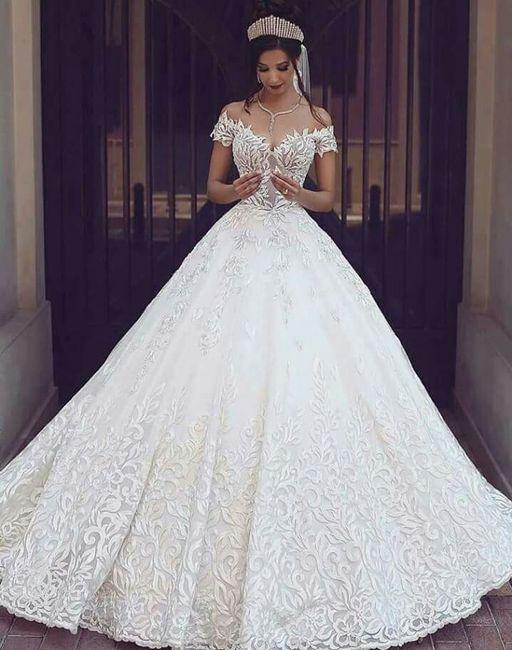 Imagenes de vestidos de novia esponjados