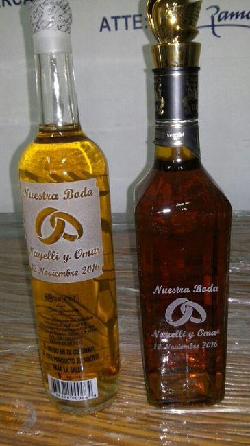 Botellas de vidrio para souvenir - 1